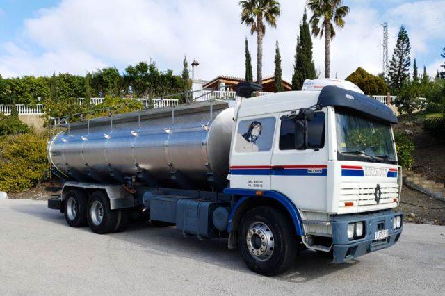 flota de vehículos agua potable